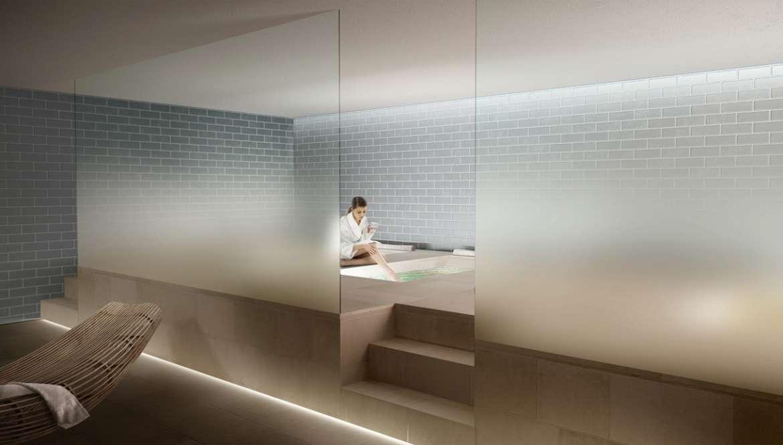 Decorazione Pareti Bagno : Decorazioni adesive per pareti interne bagno pannelli adesivi per