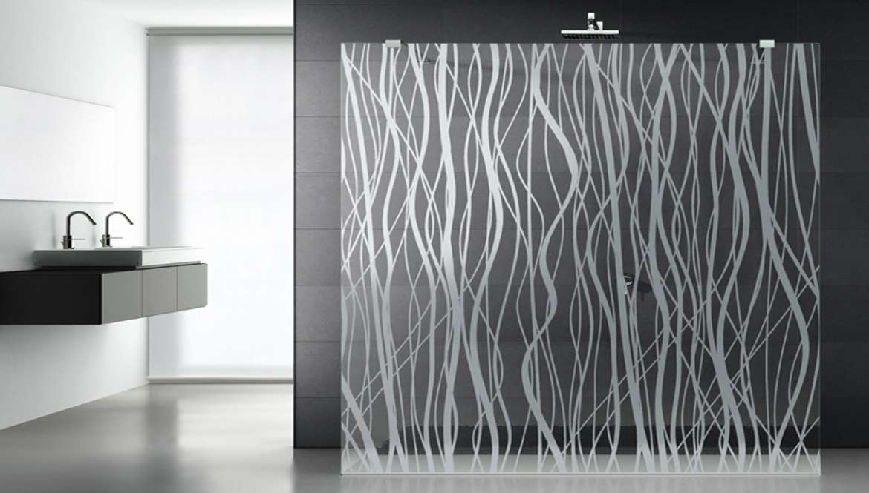 Pareti Per Doccia In Vetro : Cristalli unici per il bagno