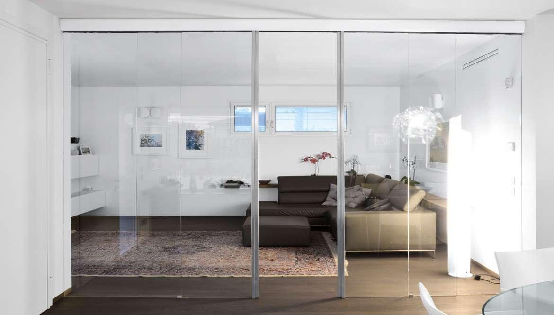 Porte in solo vetro - Design unico di OWL GLASS